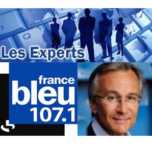 logo de l'émission les experts france bleu avec Liza Lena