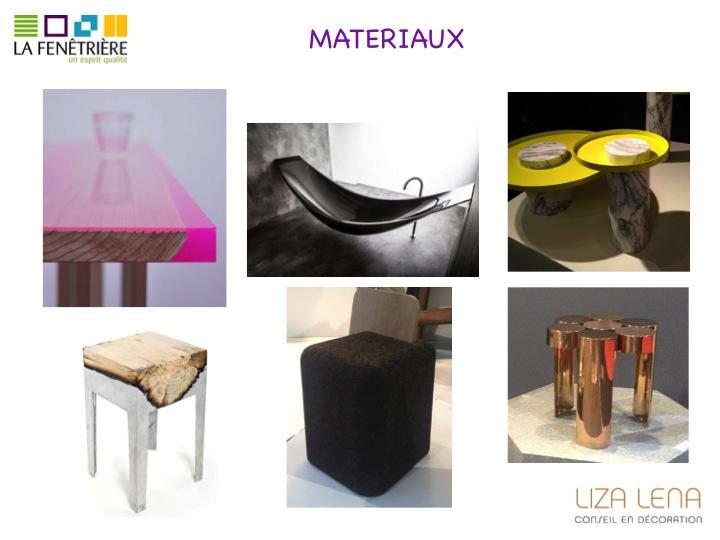 Photos de matériaux tendance de Liza Lena